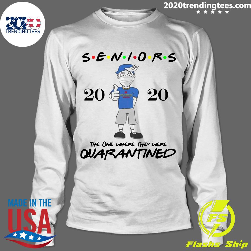 Seniors Class Of 2020 Quarantine Graduation Gift And Keepsake Shirt Longsleeve