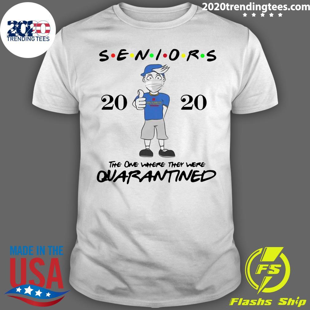 Seniors Class Of 2020 Quarantine Graduation Gift And Keepsake Shirt
