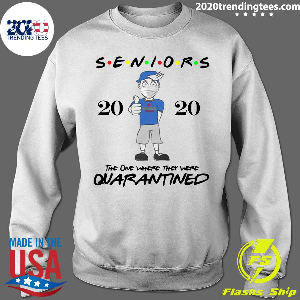 Seniors Class Of 2020 Quarantine Graduation Gift And Keepsake Shirt Sweater