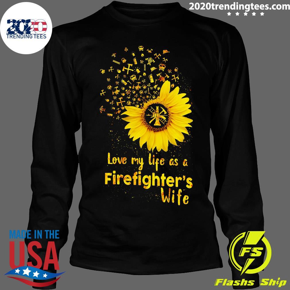 Firefighting it/_s My Life t-Shirt for Firefighter Unisex Sweatshirt tee