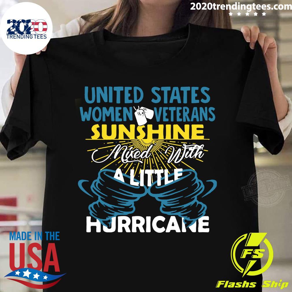 United States Women Veterans Sunshine Shirt