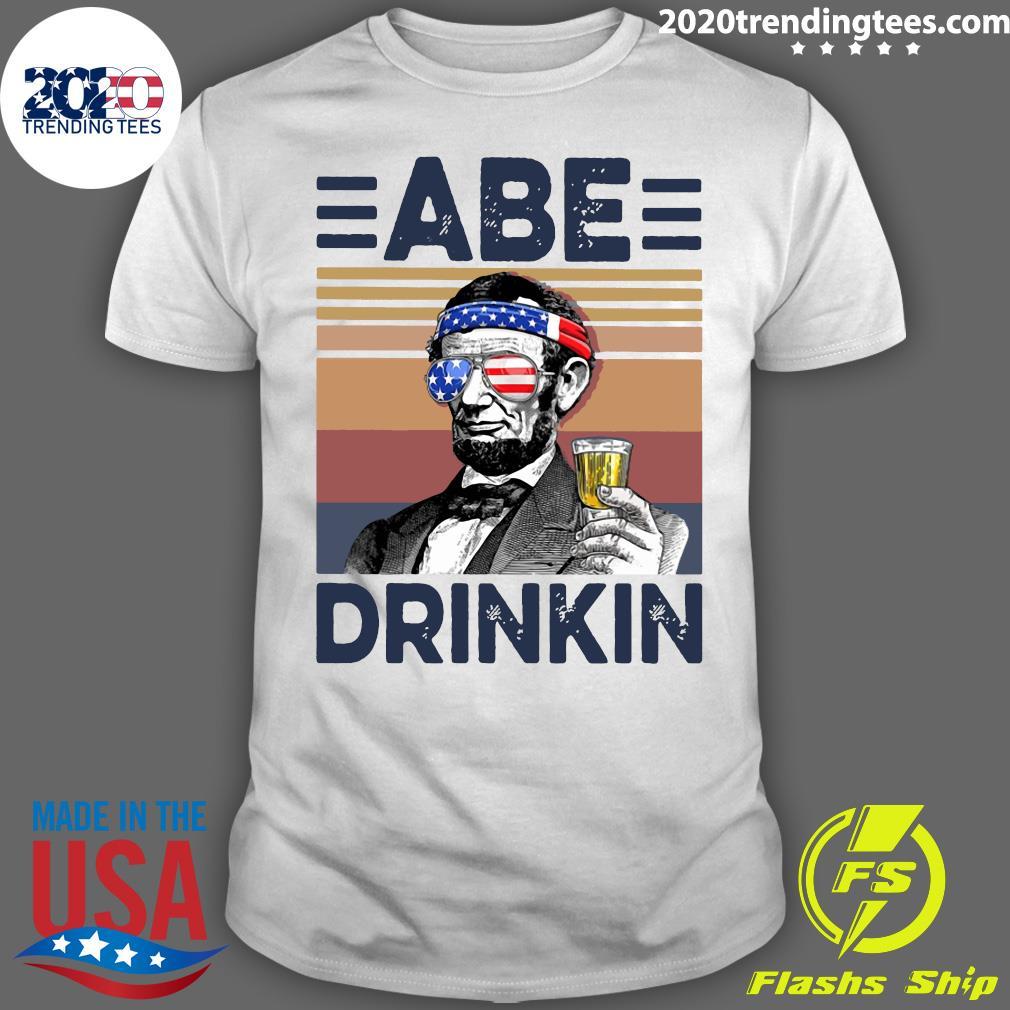 US Drink Abe Drinkin Shirt