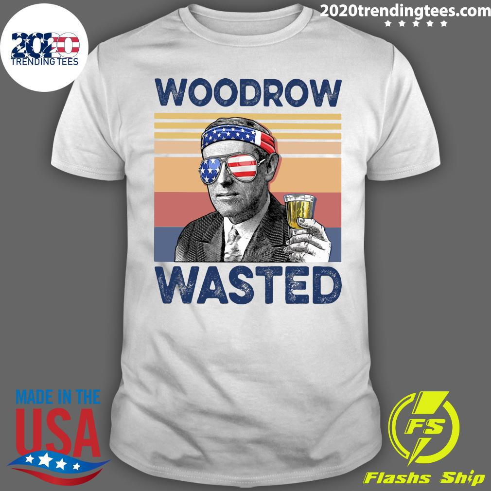 US Drink Woodrow Wasted Shirt