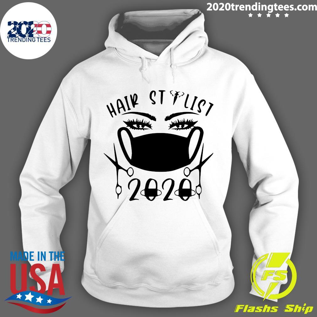 Hair Stylist 2020 Black Shirt Hoodie