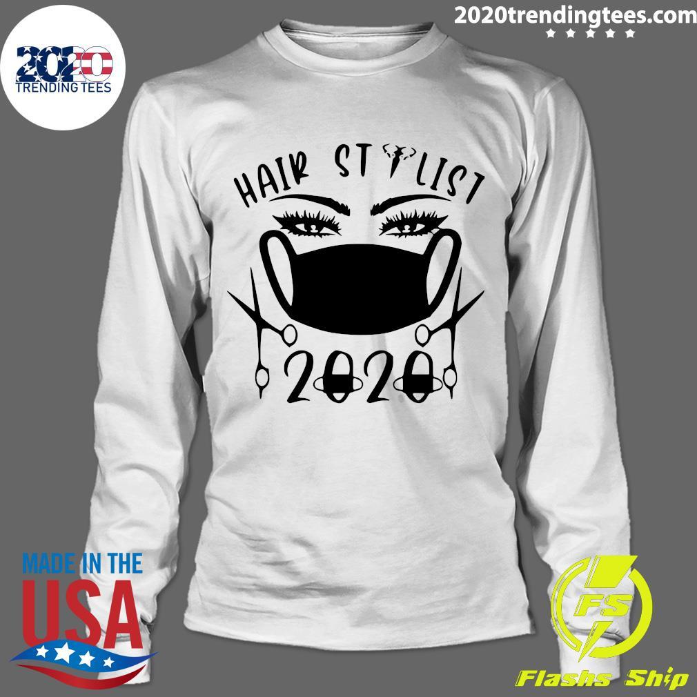 Hair Stylist 2020 Black Shirt Longsleeve