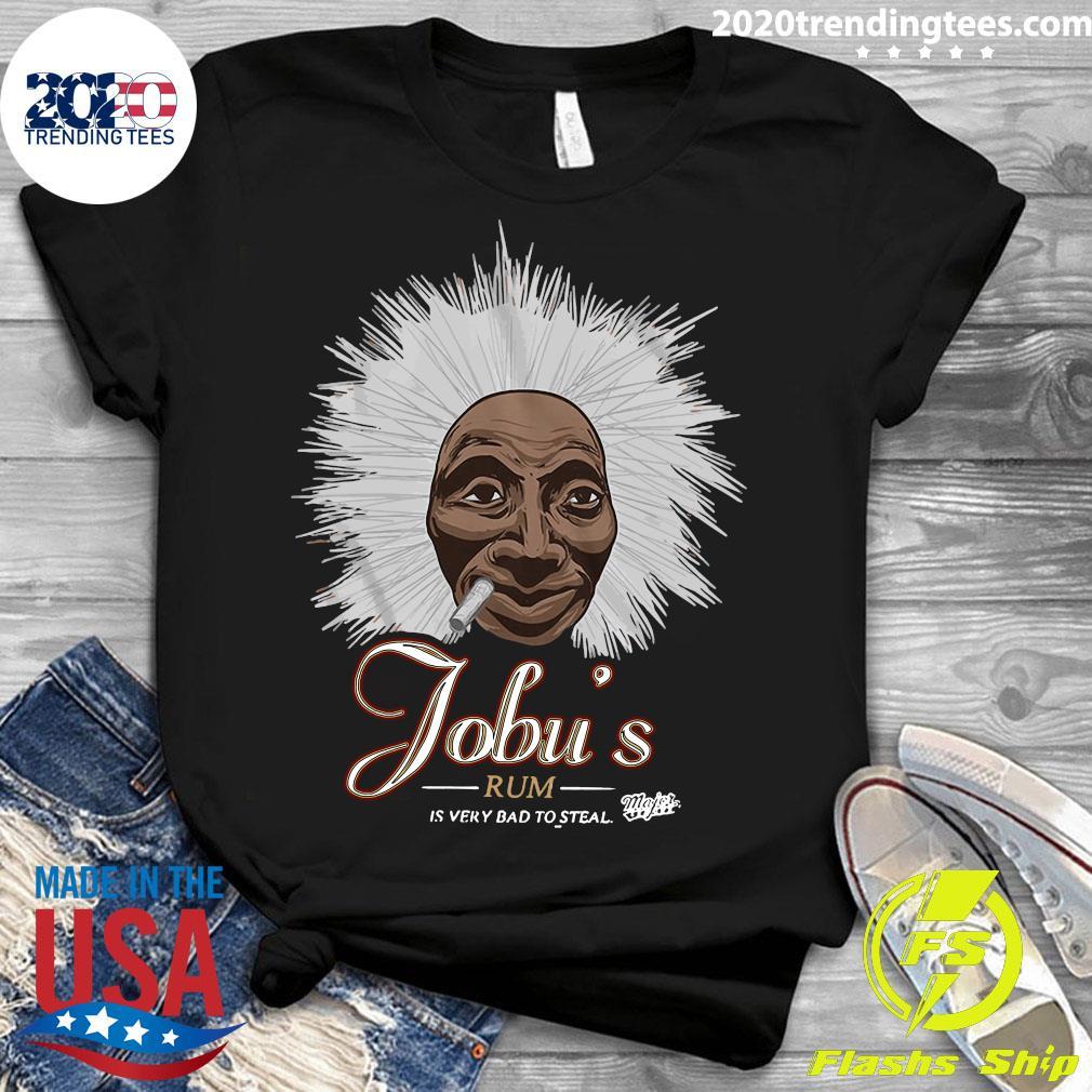 Jobu's Rum Major League Shirt Ladies tee