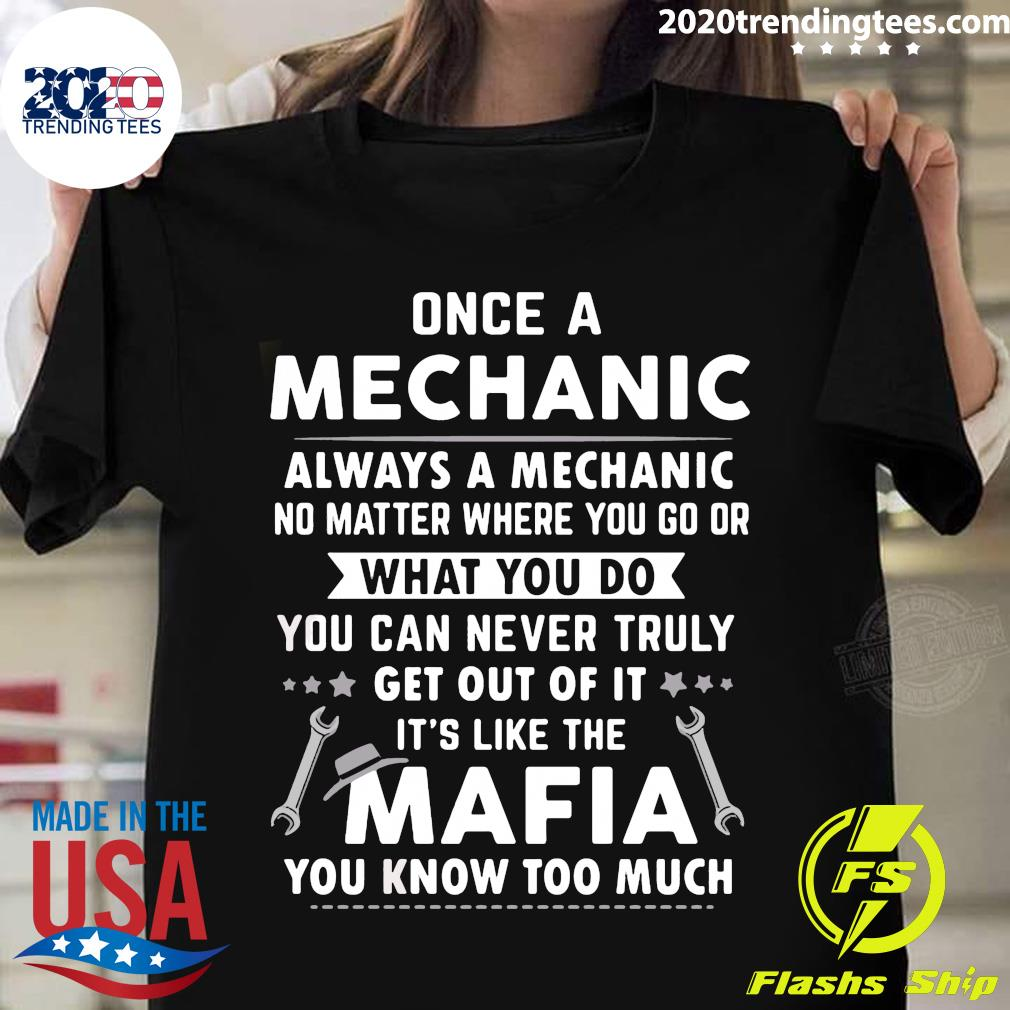 Mechanics Are Like Mafia Shirt