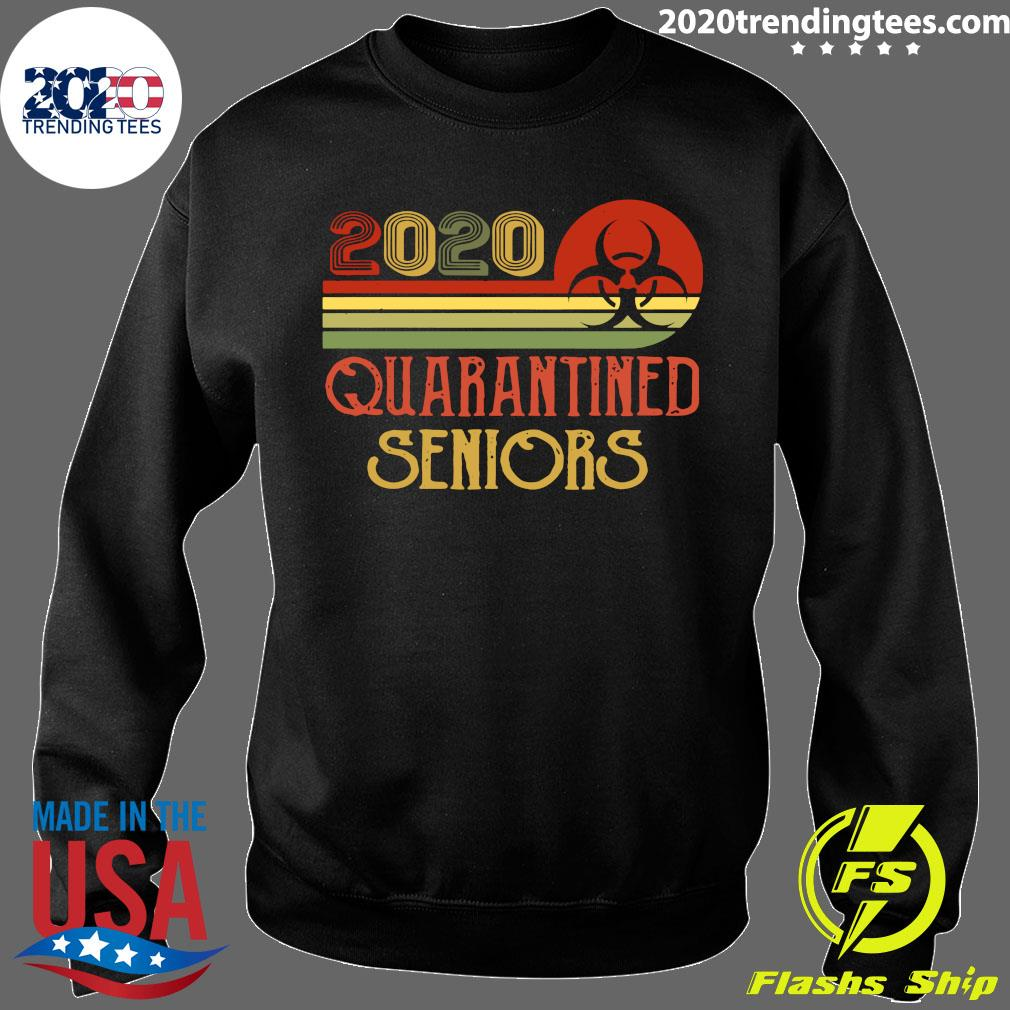 Official Class Of 2020 Senior Quarantine Graduation Vintage Shirt Sweater