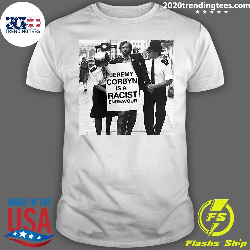 Rachel Riley Criticised Sweatshirt Jeremy Corbyn Is A Racist Endeavour Shirt
