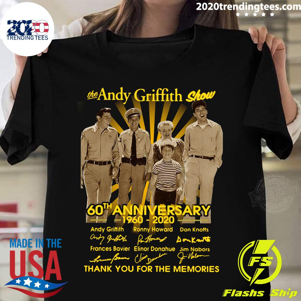 The Andy Griffith Show 60th Anniversary 1960 2020 Shirt