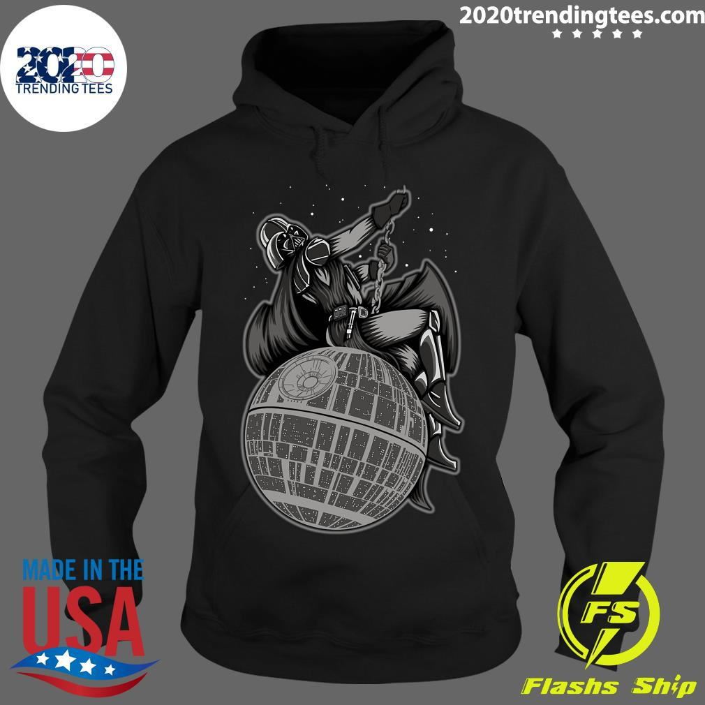 Wrecking Death Star Shirt Hoodie