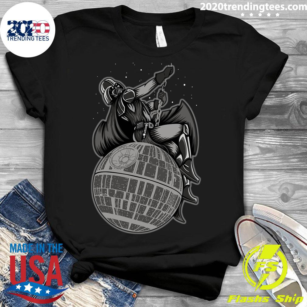 Wrecking Death Star Shirt Ladies tee