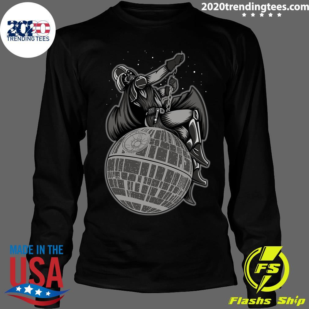 Wrecking Death Star Shirt Longsleeve
