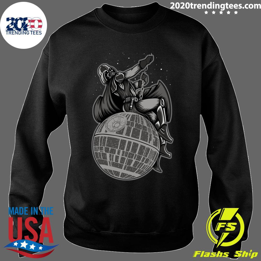 Wrecking Death Star Shirt Sweater