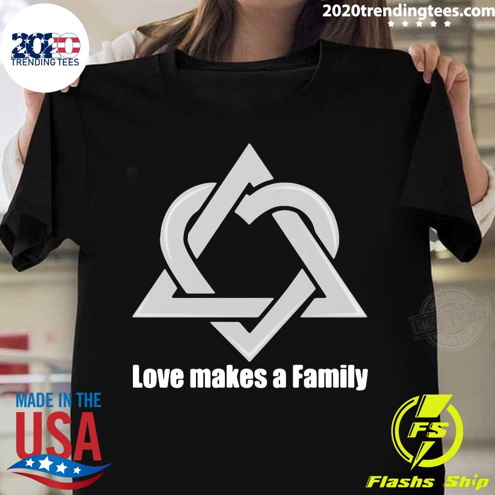 Adoption Announcement Day Love Makes A family Shirt