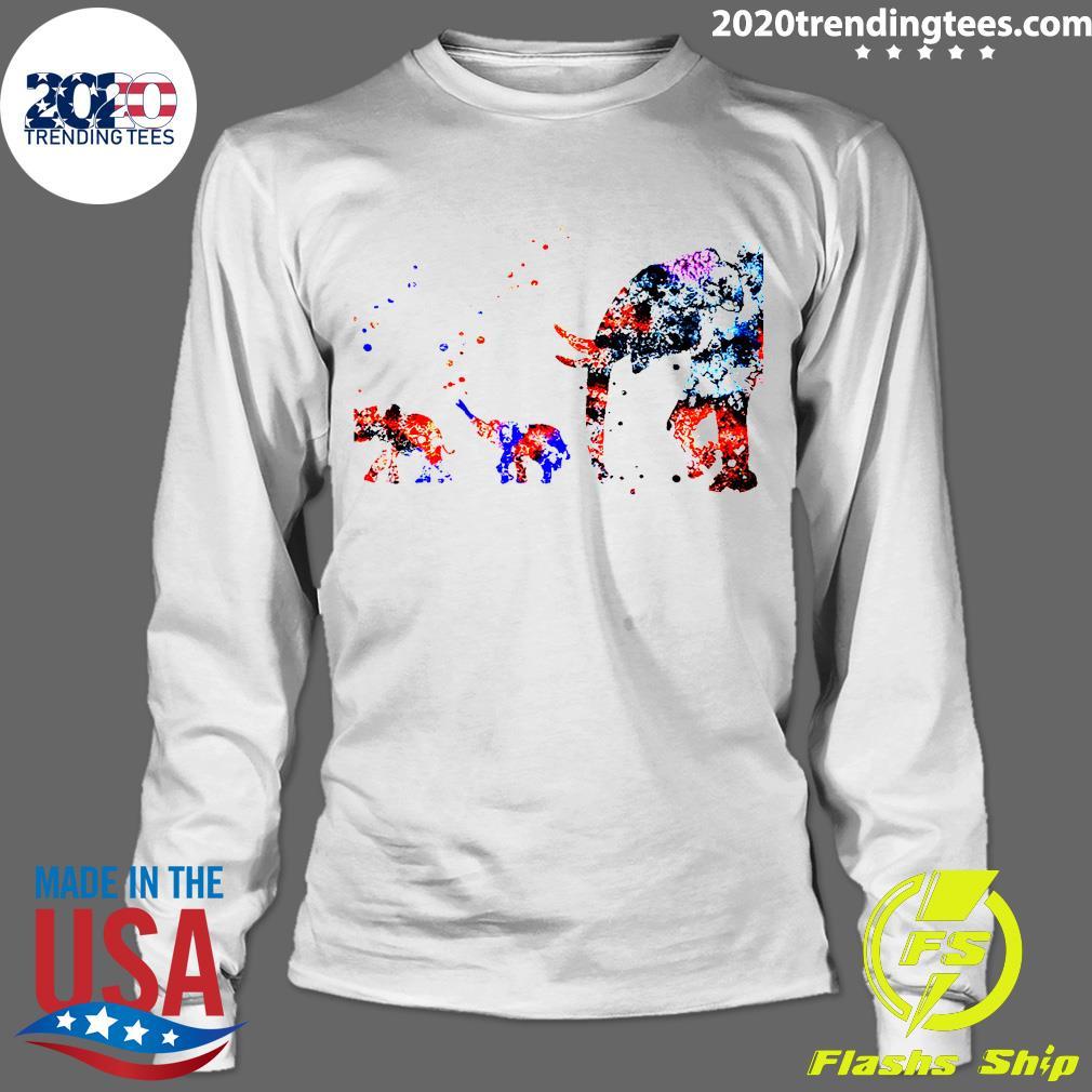Baby Elephant Mother Shirt Longsleeve