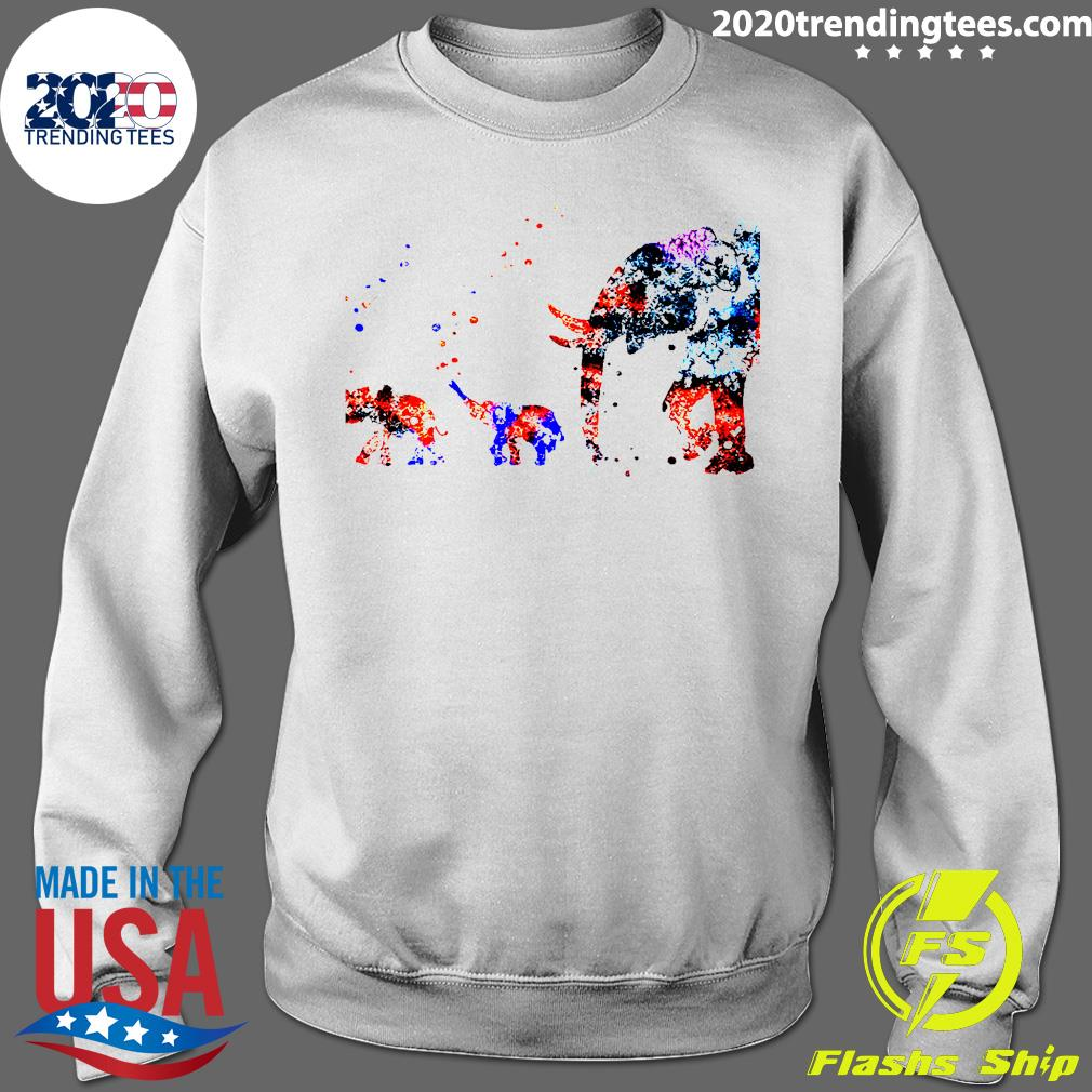 Baby Elephant Mother Shirt Sweater