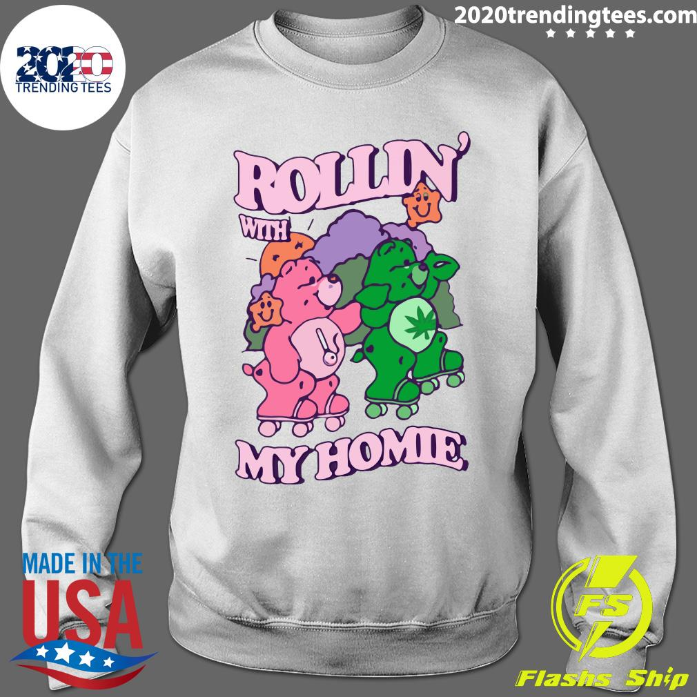 Casual Care Bear Rollin' With My Homie Shirt Sweater