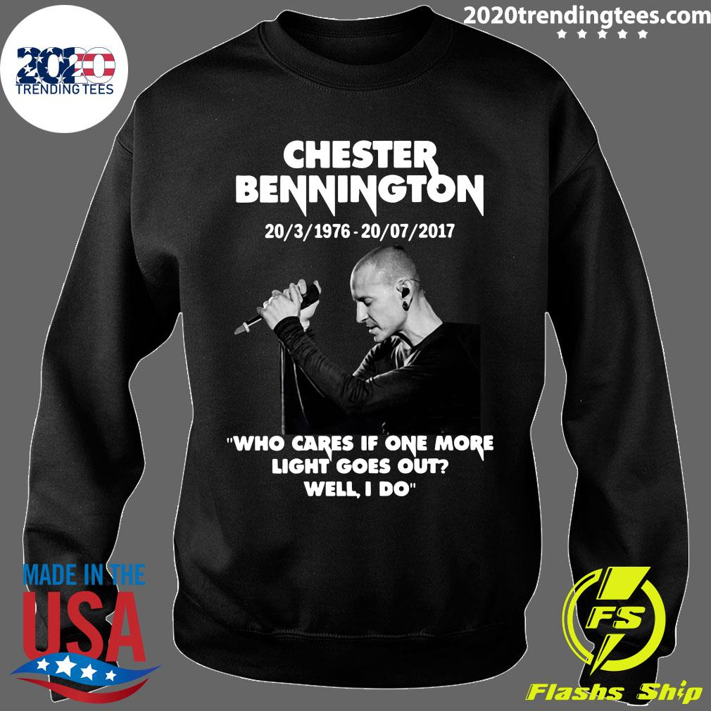 Chester Bennington Who Cares If One More Light Goes Out Well I Do Shirt Sweater