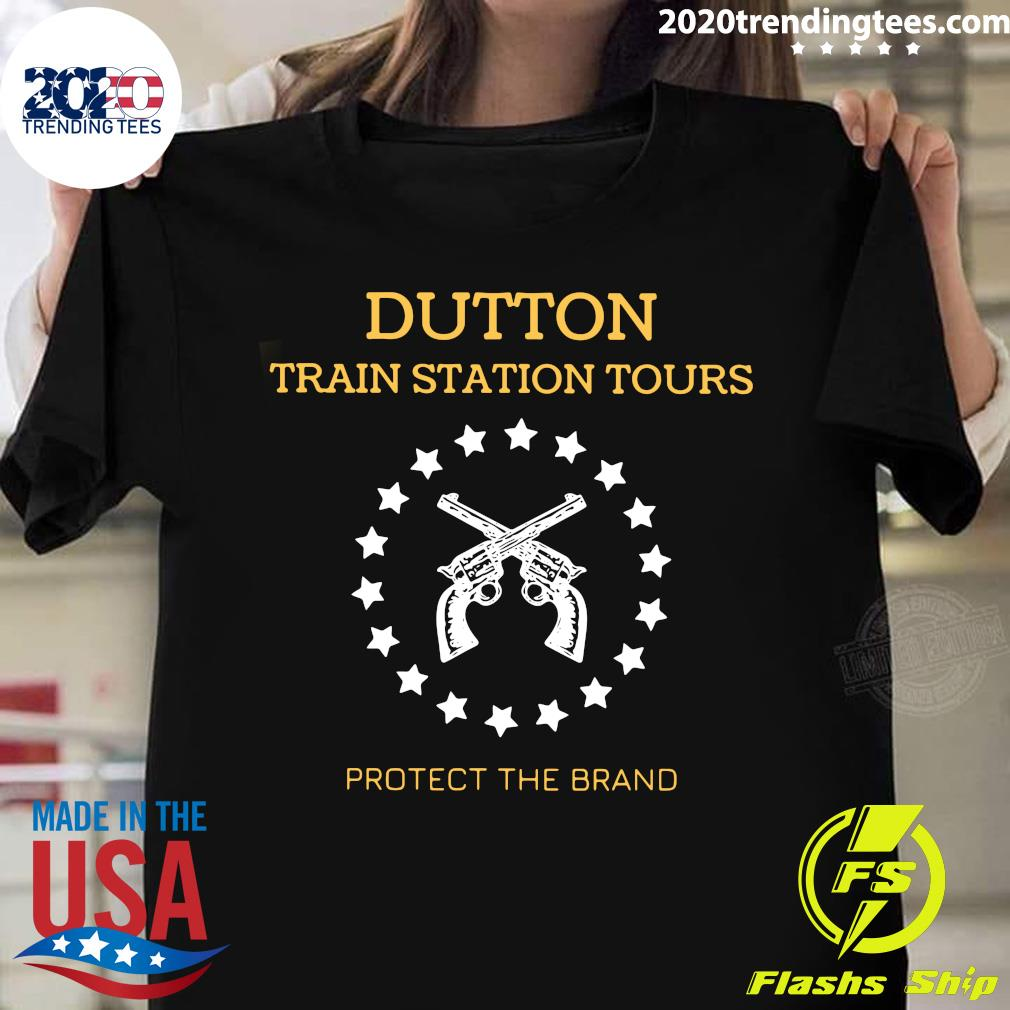 Dutton Train Station Tours Protect The Brand Shirt