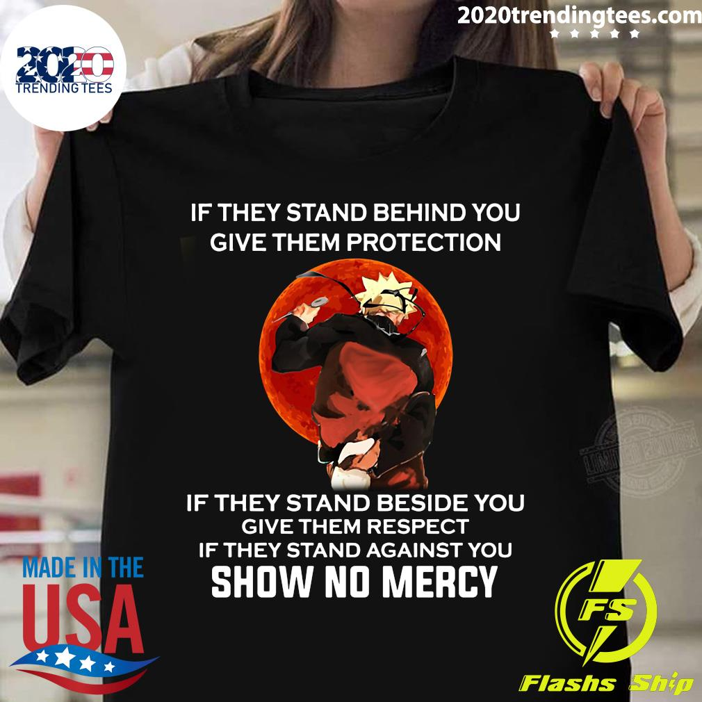 If They Stand Behind You Give Them Protection Vintage Shirt
