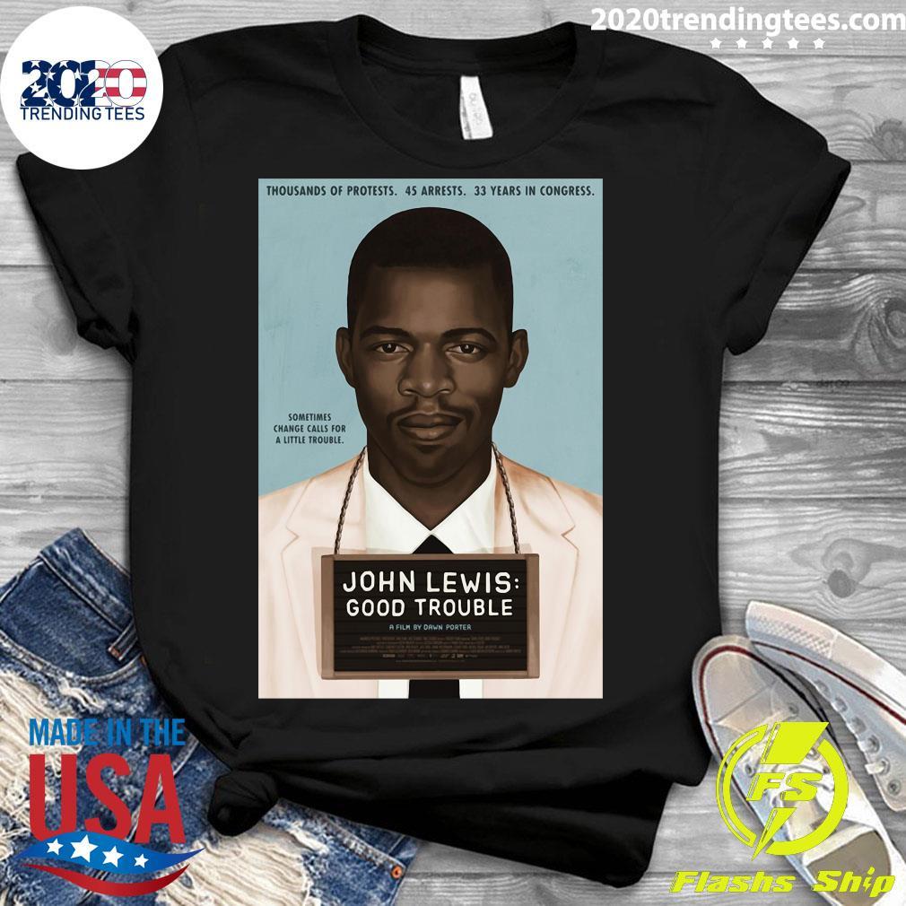 John Lewis Good Trouble Shirt Ladies tee
