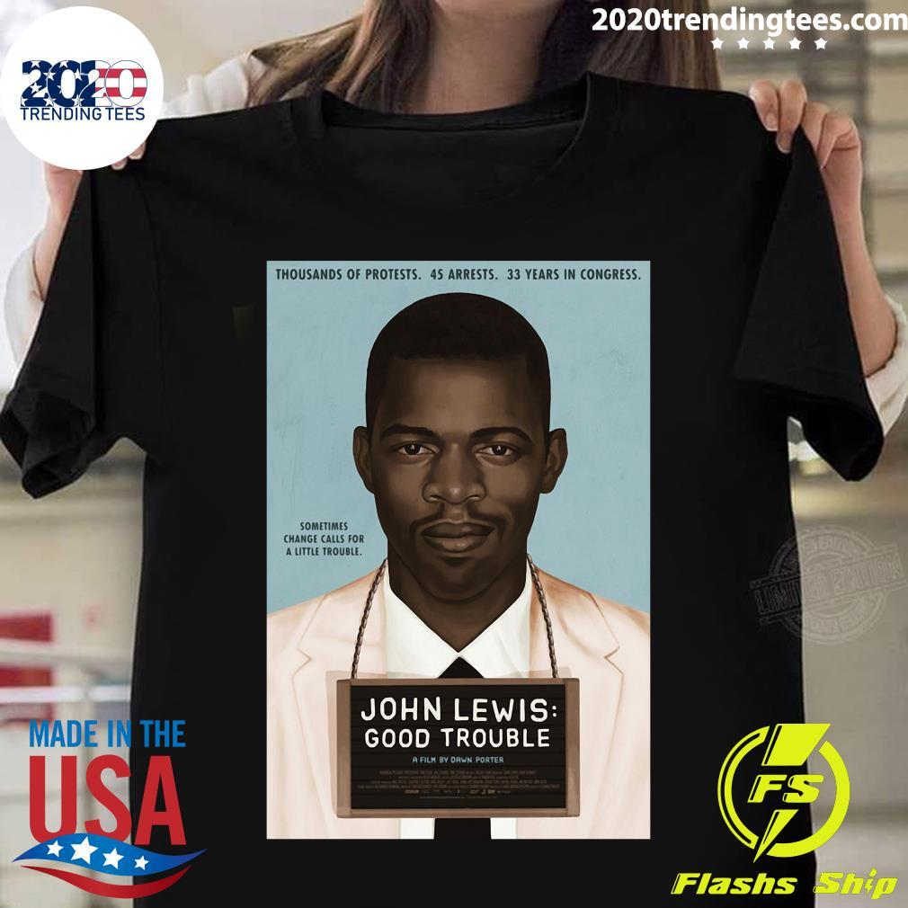 John Lewis Good Trouble Shirt