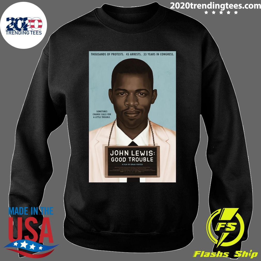 John Lewis Good Trouble Shirt Sweater