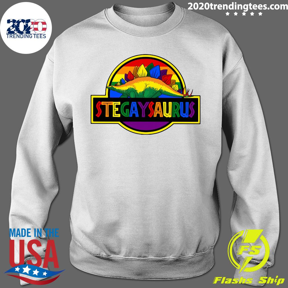 LGBT Stegaysaurus Shirt Sweater