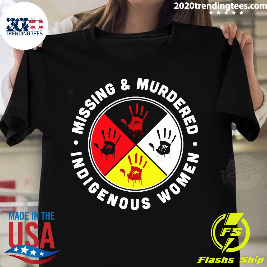 Missing And Murdered Indigenous Women Native American Shirt