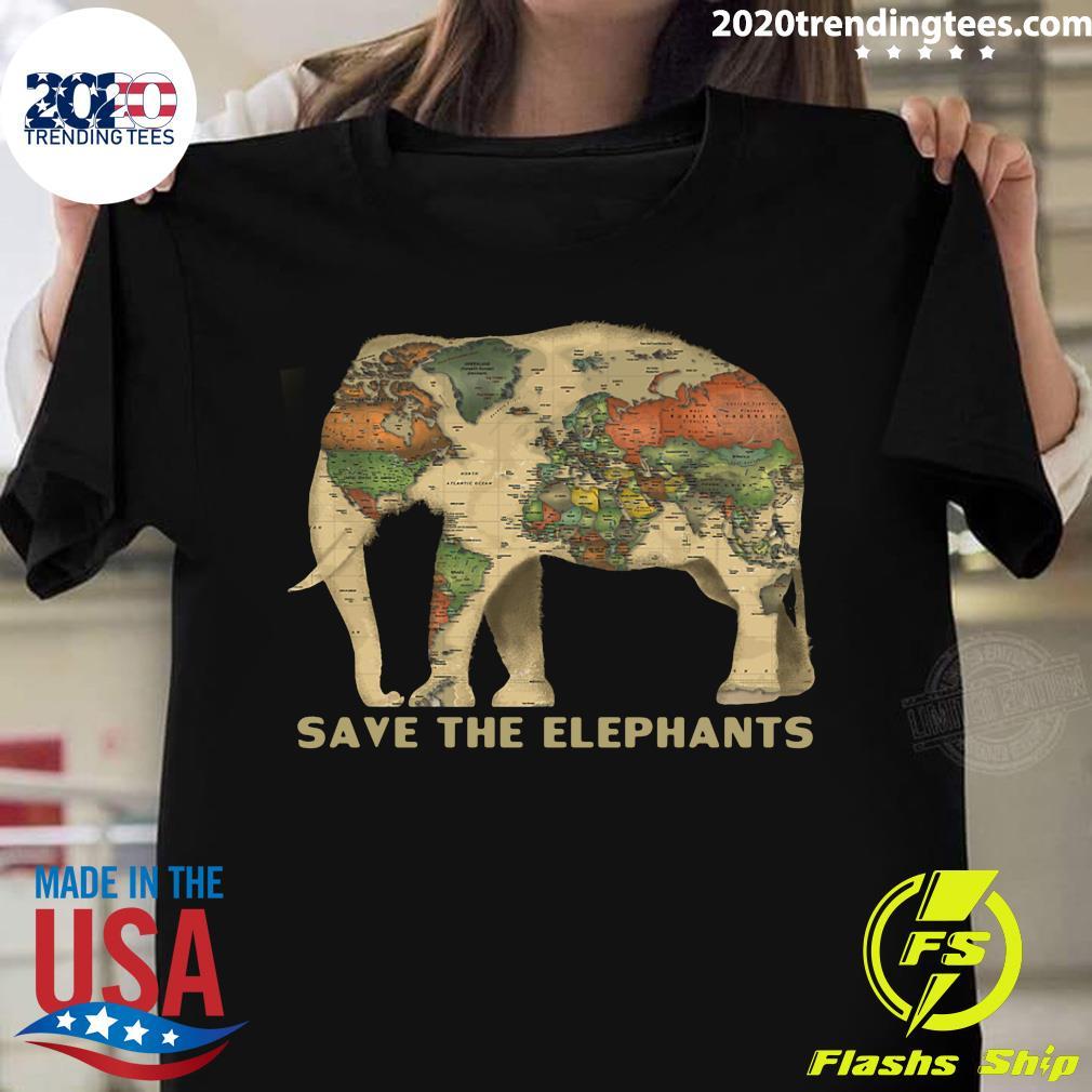 Save The Elephants Shirt