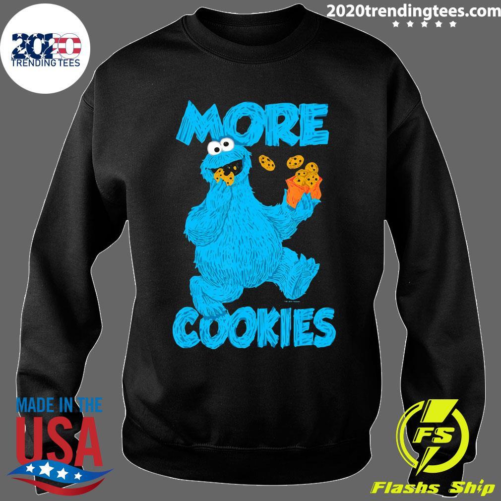 Sesame Street Cookie Monster More Cookies Shirt Sweater