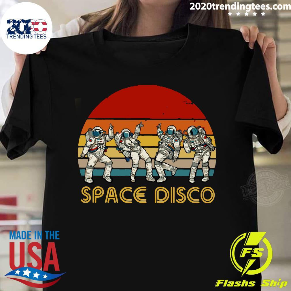 Space Disco Vintage Retro Shirt