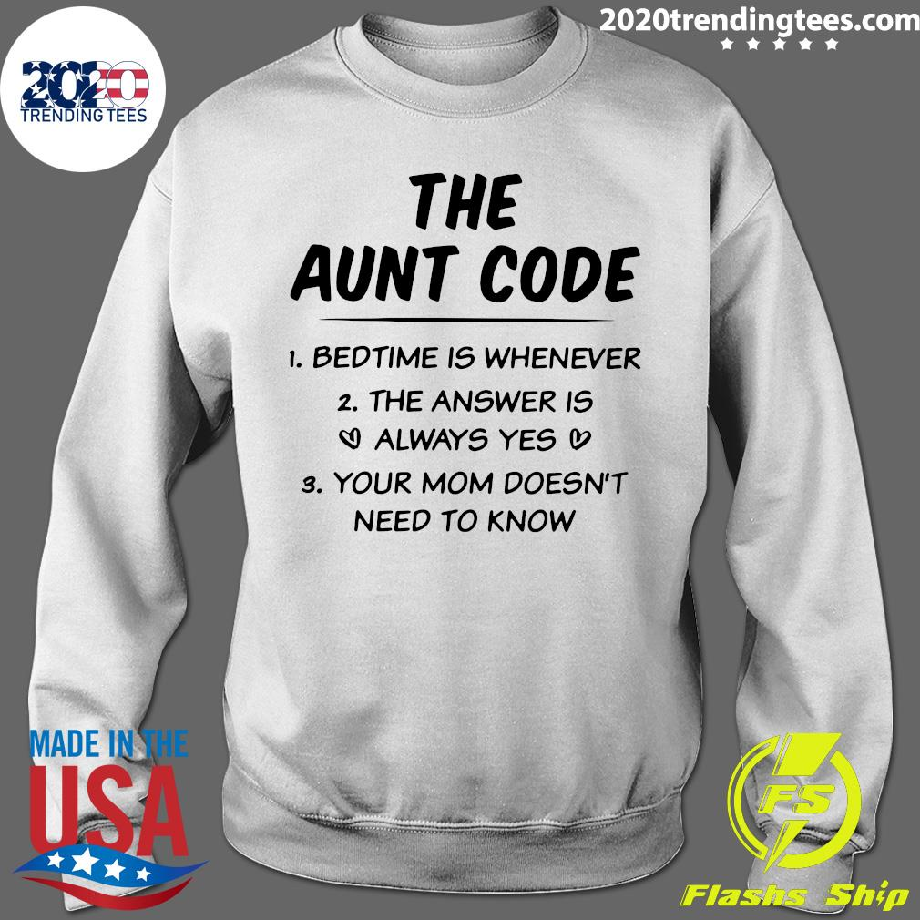 The Aunt Code Shirt Sweater