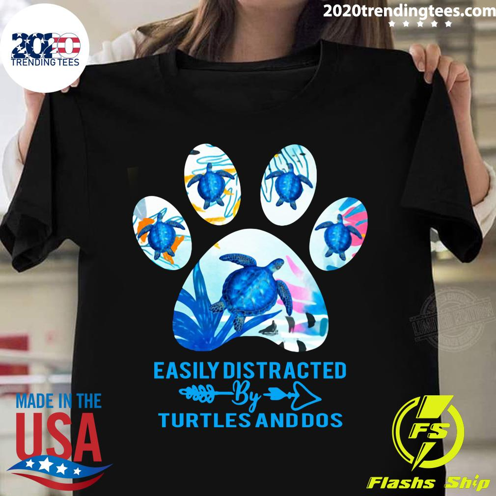 Turtles Easily Distracted By Turtles And Dos Shirt