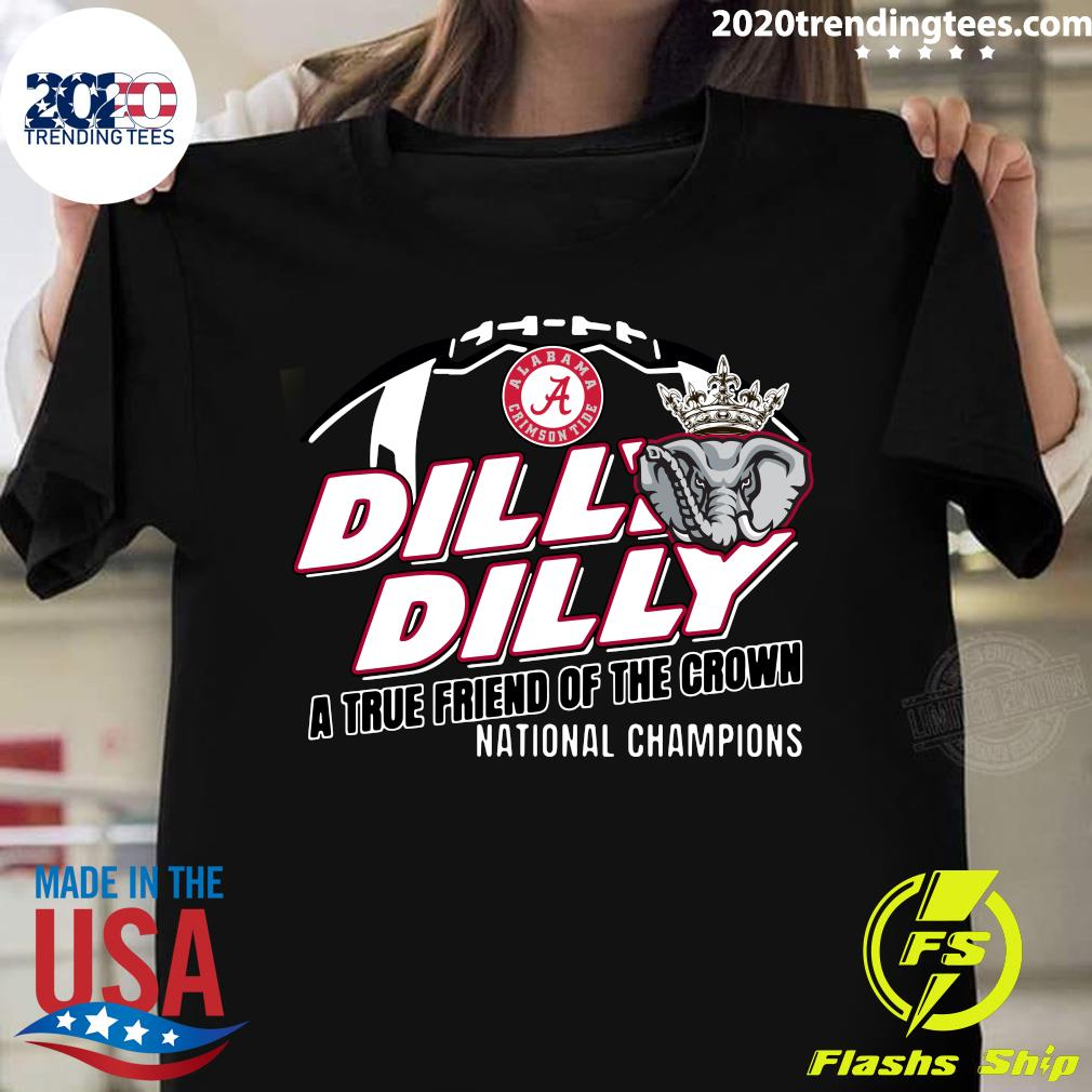 Alabama Crimson Tide Dilly Dilly Youth Kids Pullover Shirt