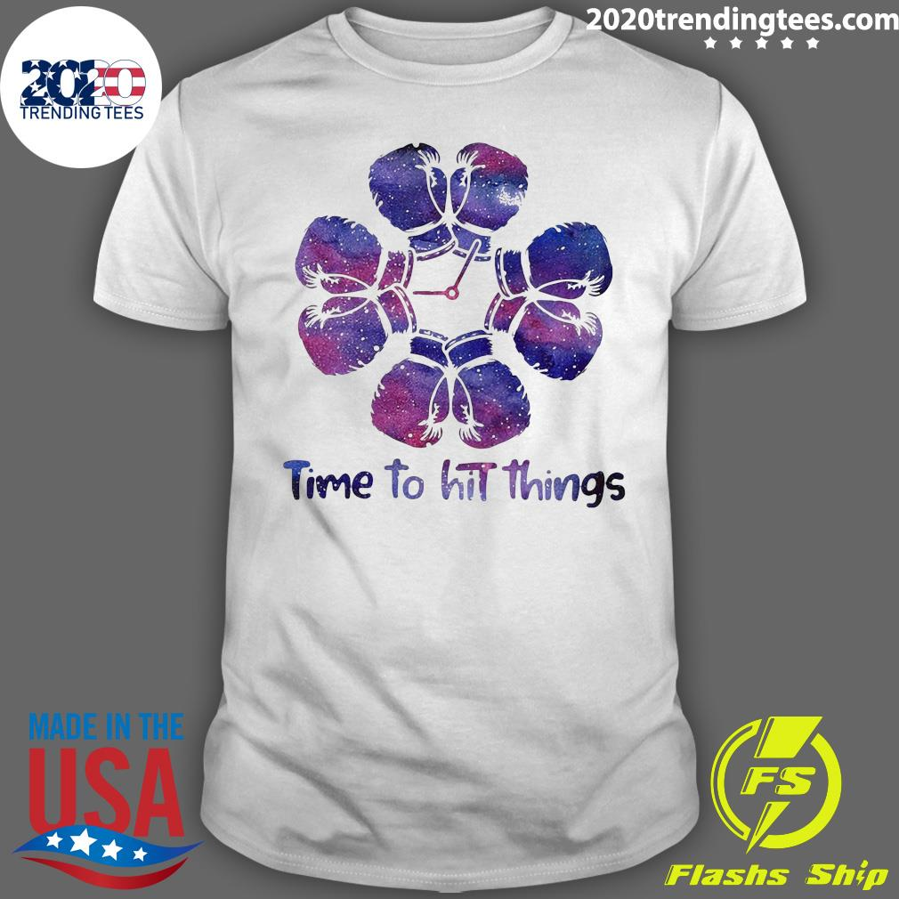 Boxing Time To Hit Things Shirt