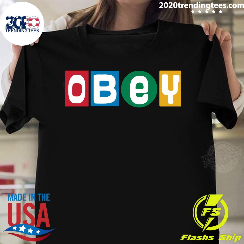 Funny Obey Shirt