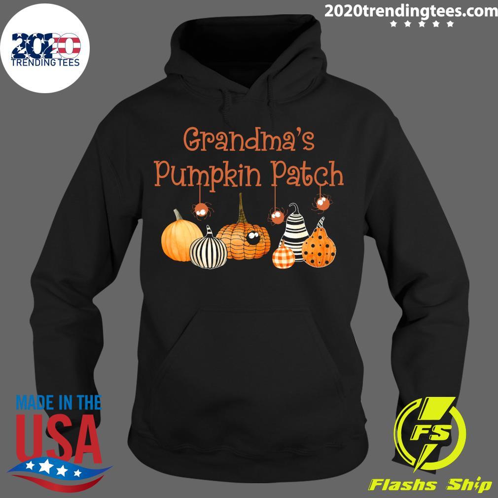 Grandma Pumpkin Patch Halloween Custome Shirt Hoodie