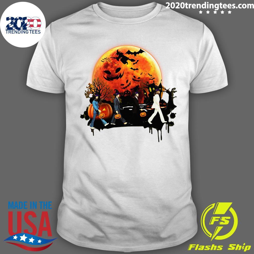 Halloween Walking Moon Shirt