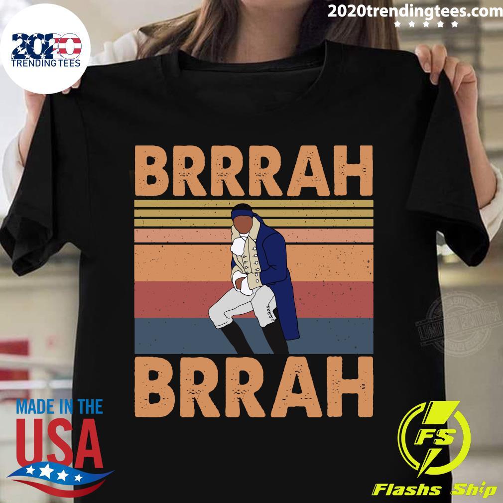 Hamilton Brrah Brrah Vintage Retro Shirt