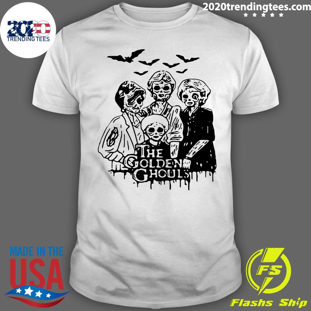 The Golden Ghouls Halloween Shirt