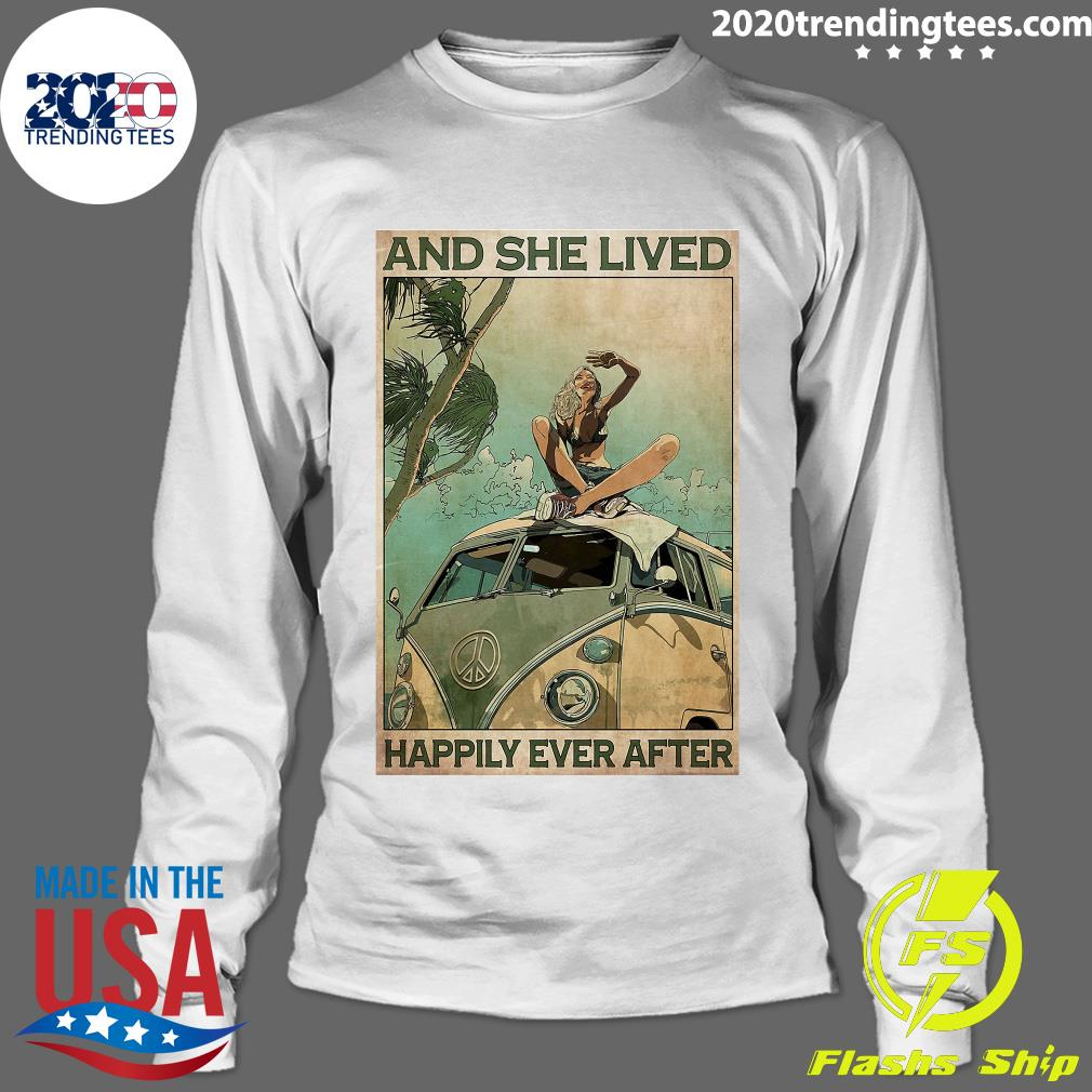 And She Lived Happily Ever After Shirt Longsleeve