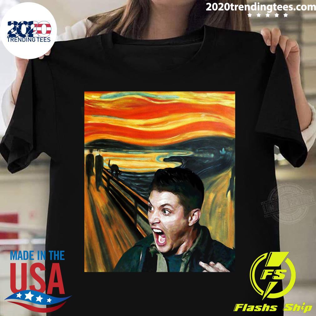 Dean Winchester The Scream Shirt