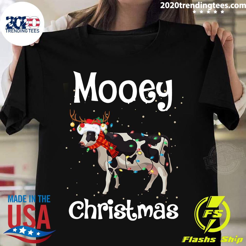 Farm Cow Mooey Christmas Shirt