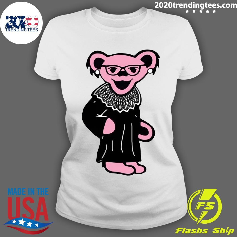 Grateful Bears Notorious RBG Shirt Ladies tee