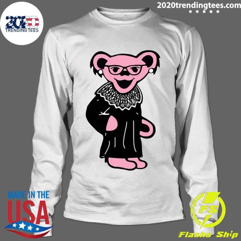 Grateful Bears Notorious RBG Shirt Longsleeve