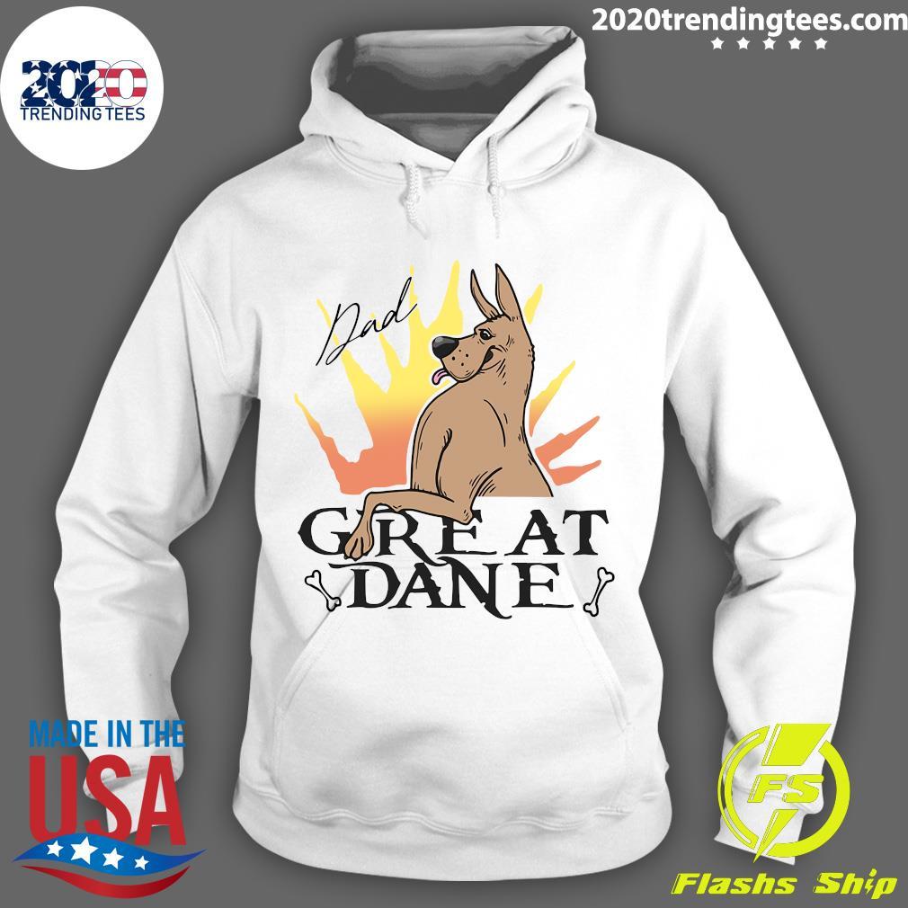 Great Dane Dad Shirt Hoodie