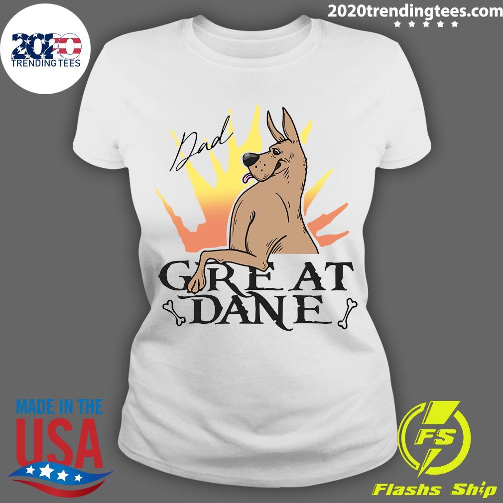 Great Dane Dad Shirt Ladies tee
