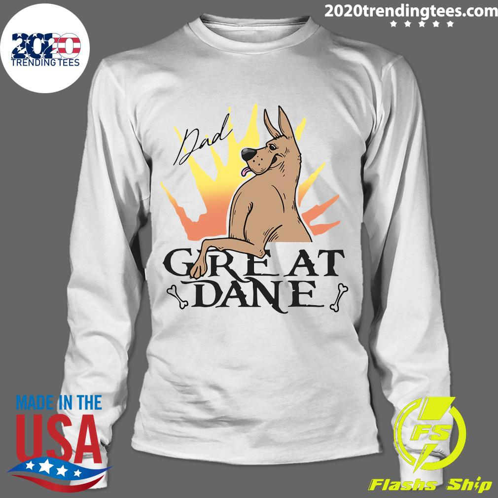 Great Dane Dad Shirt Longsleeve
